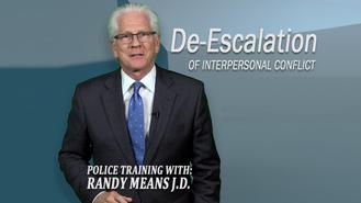 De-Escalation (R. Means)